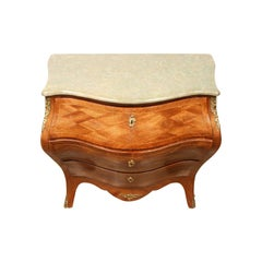 19th Century Swedish Rococo Style Chest of Drawers