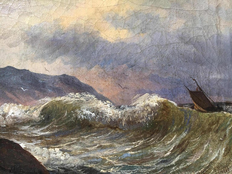 19th Century Swedish Seascape 2