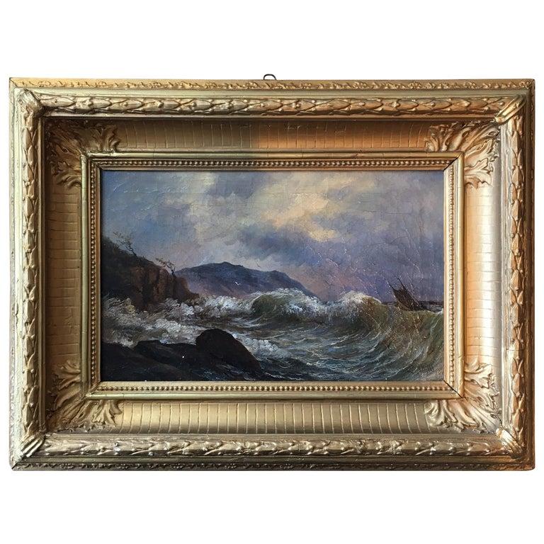 19th Century Swedish Seascape
