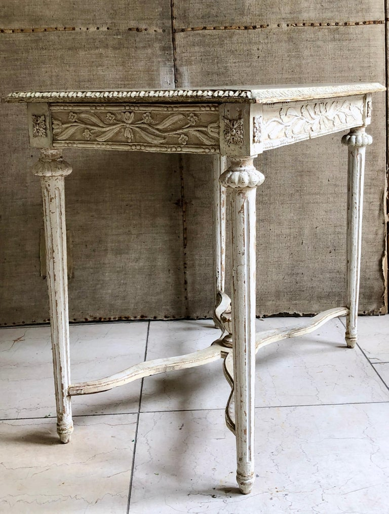 Gustavian 19th Century Swedish Side Table