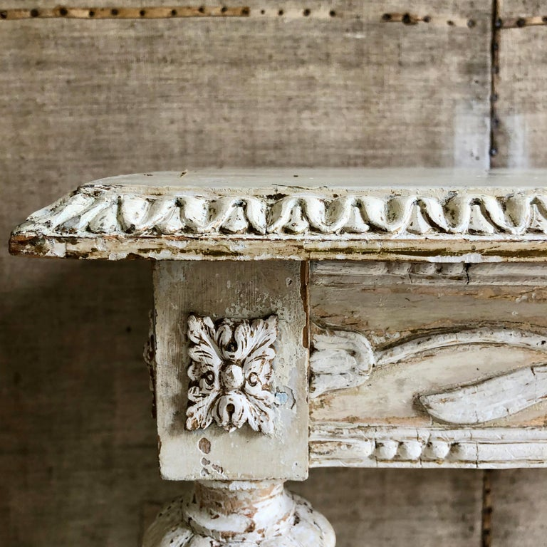 Wood 19th Century Swedish Side Table