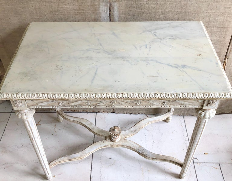 19th Century Swedish Side Table 2