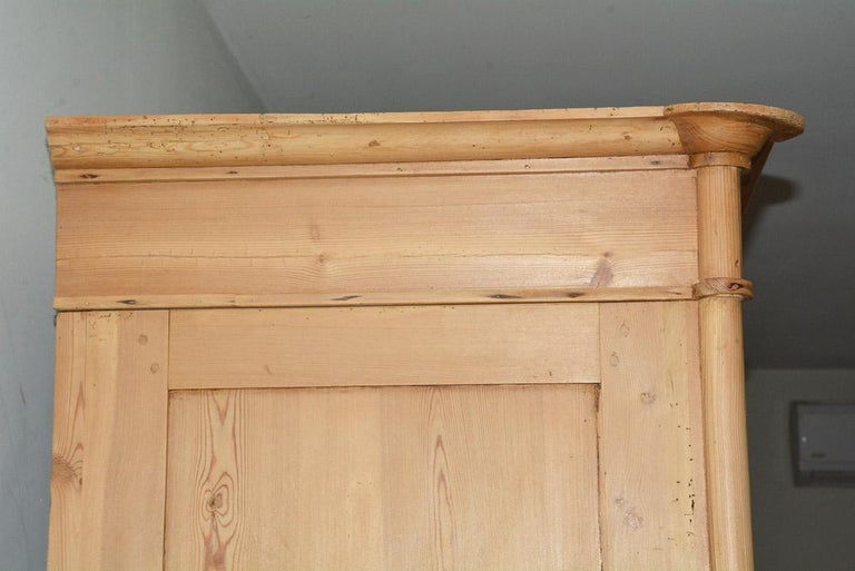 19th Century Swedish Style Pine Cupboard For Sale 5