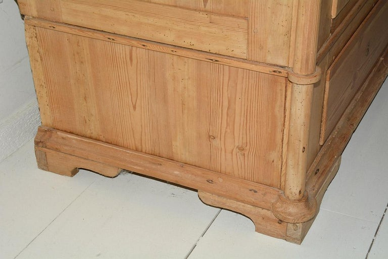 19th Century Swedish Style Pine Cupboard For Sale 6