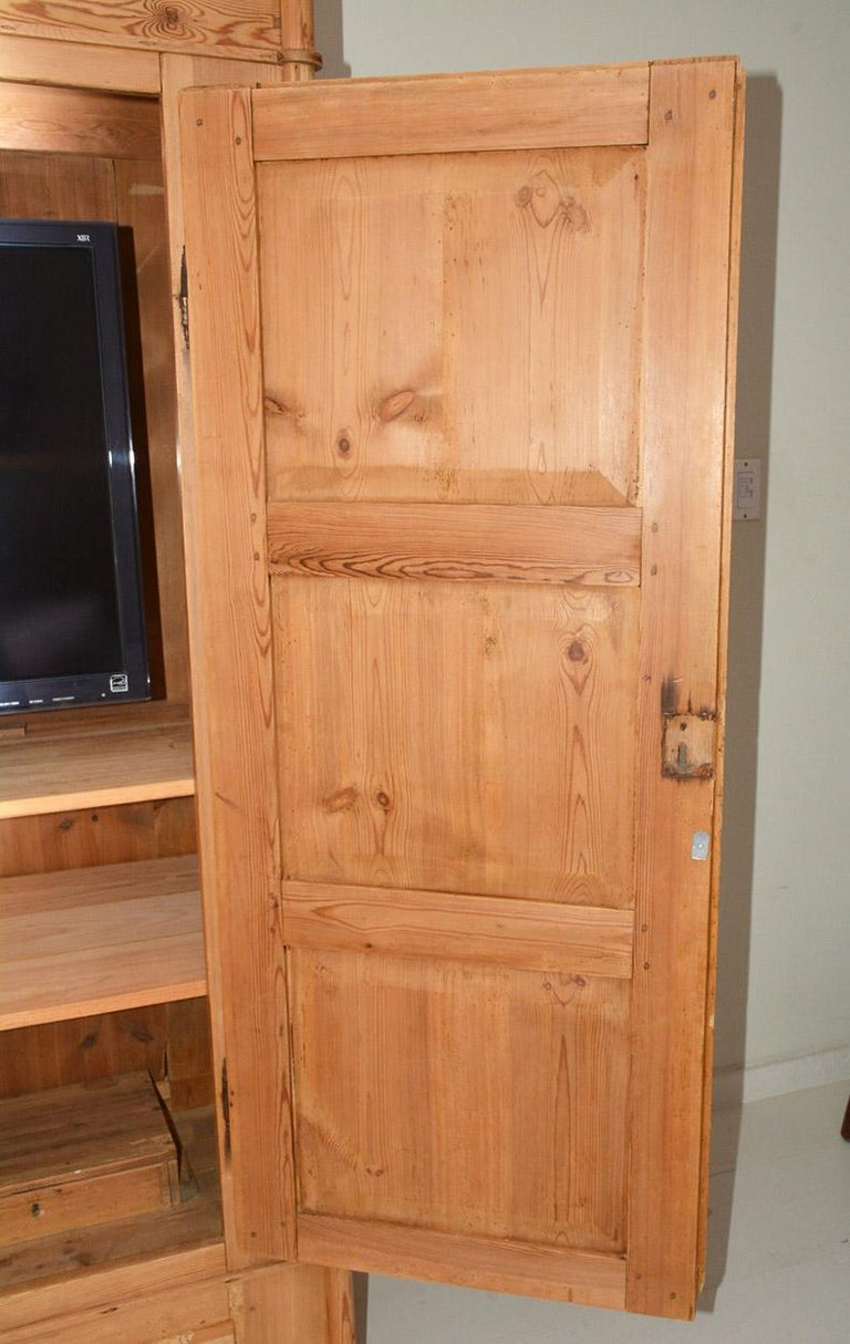 19th Century Swedish Style Pine Cupboard For Sale 2