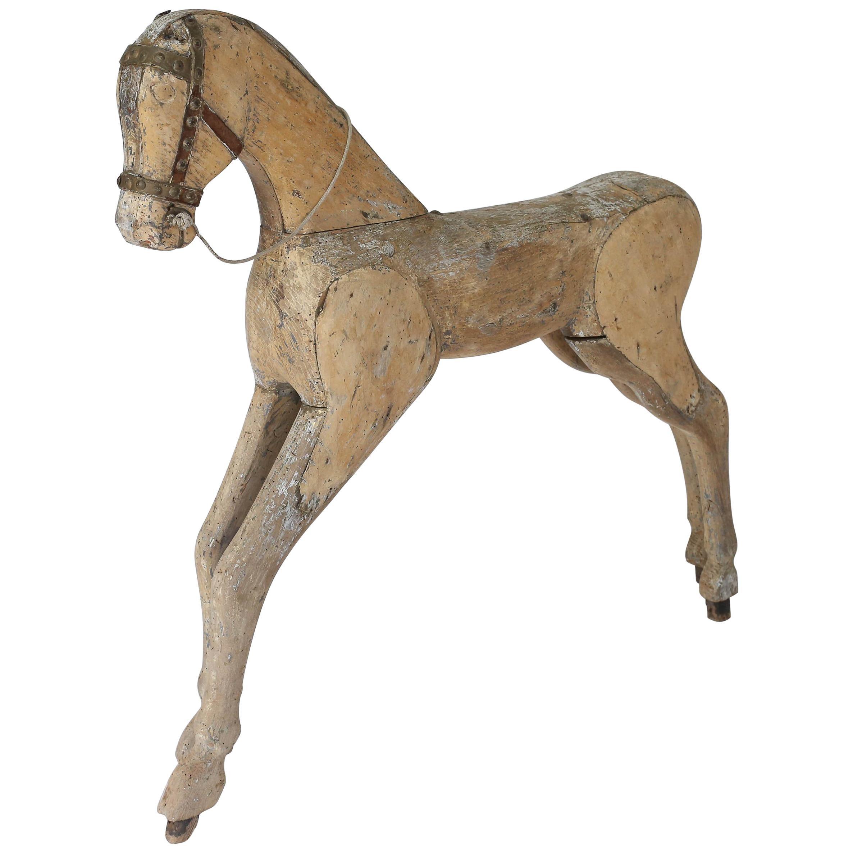 19th Century Swedish Toy Horse
