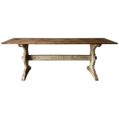 19th Century Swedish Trestle Table