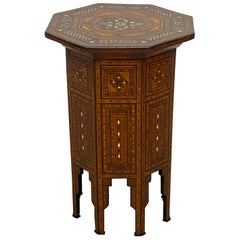 19th Century Syrian Tabouret Side Table