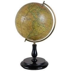 19th Century Table Top Globe by George Philip & Son, London, circa 1890