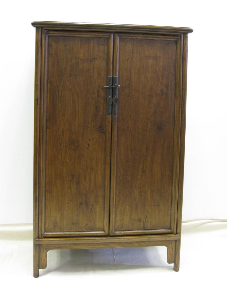 Qing 19th Century Tapered Cabinet For Sale