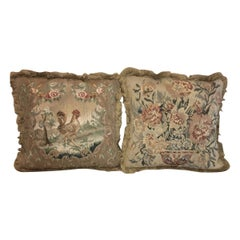 19th Century Tapestry Cushions
