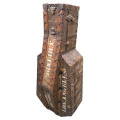 19th Century Taylor Trunk Works Custom Cello Case