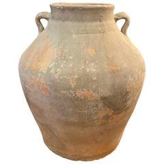 19th Century Terracotta Food Vessel Pot, China