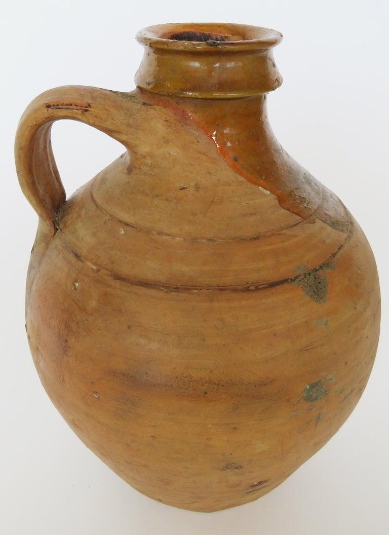 19th Century Terracotta Jug For Sale 3