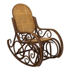 19th Century Thonet Bentwood Rocking Chair