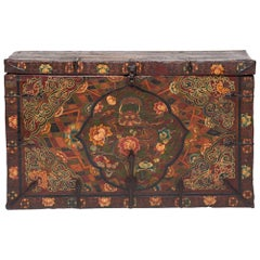 19th Century Tibetan Monk's Trunk