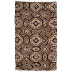 19th Century Tibetan Prayer Carpet