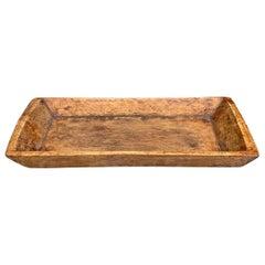 19th Century Tibetan Wood Tray