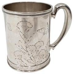 19th Century Tiffany & Co. Sterling Silver Child's Cup, circa 1881