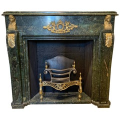19th Century Marble Ormolu Fireplace