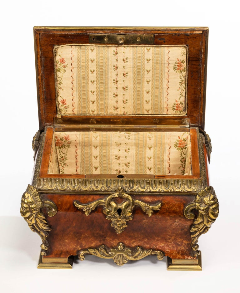19th Century Tortoiseshell and Gilt Bronze Casket In Excellent Condition For Sale In Peterborough, Northamptonshire