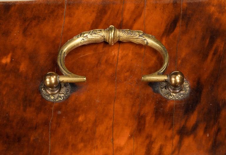 19th Century Tortoiseshell and Gilt Bronze Casket For Sale 1