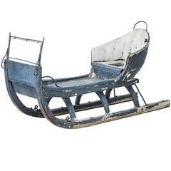 19th Century Traditional Swedish Sleigh