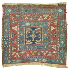 19th Century Tribal Antique Persian Soumac Flat-Weave Rustic Rug