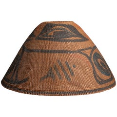 19th Century Tribal Nuu Chah Nulth (Nootka) Hat  -  Pacific Northwest Coast