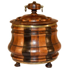 19th Century Turned Treen Jar