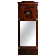 19th Century Unique Empire Wall Mirror, circa 1820