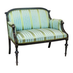 19th Century Upholstered Napoleon III Sofa