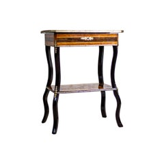 19th Century Vanity-Sewing Table-Whatnot
