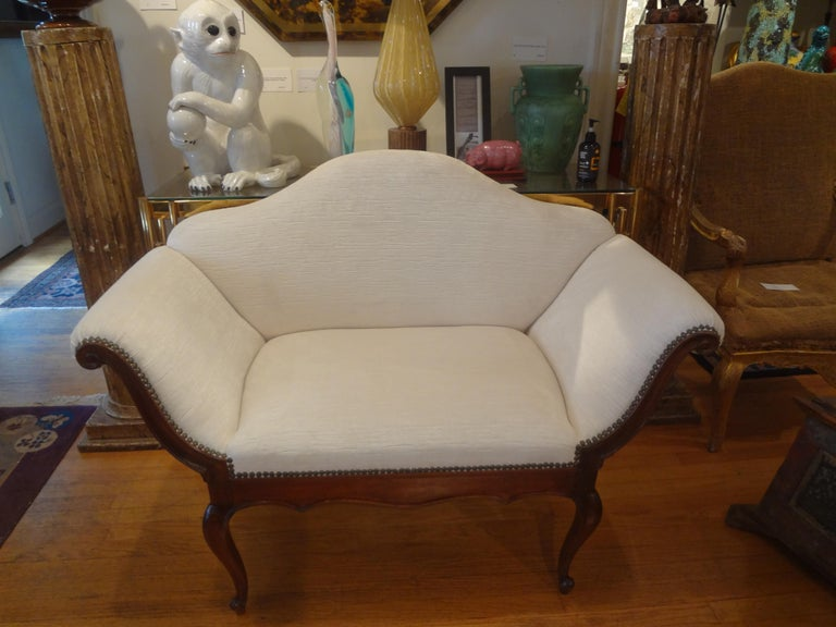 19th Century Venetian Canape or Loveseat For Sale 7