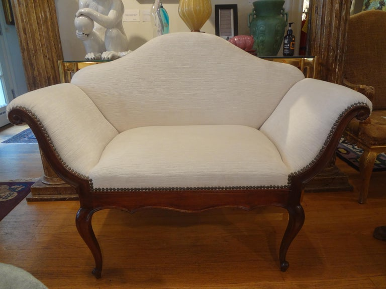 19th Century Venetian Canape or Loveseat For Sale 8