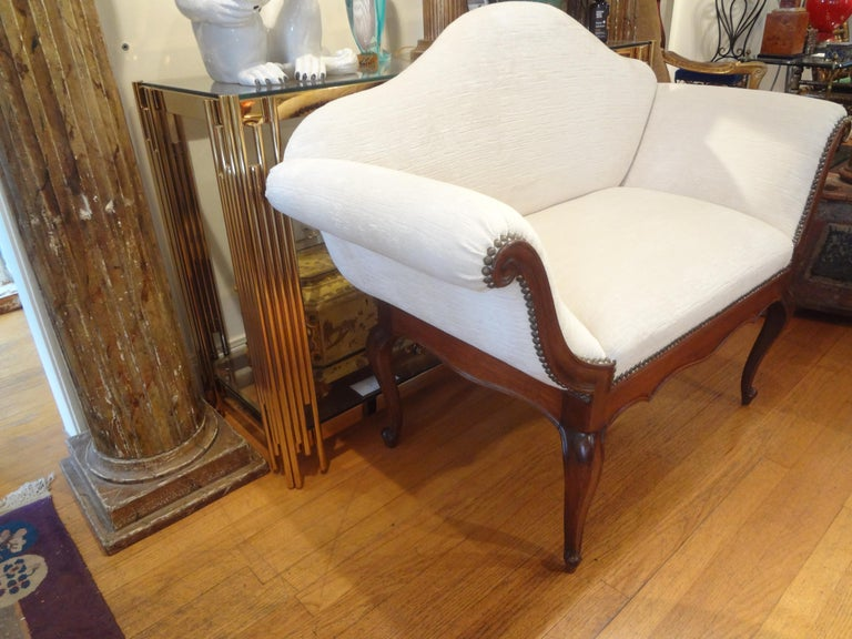 Louis XVI 19th Century Venetian Canape or Loveseat For Sale