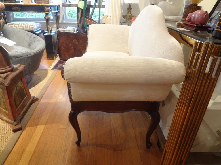 Italian 19th Century Venetian Canape or Loveseat For Sale