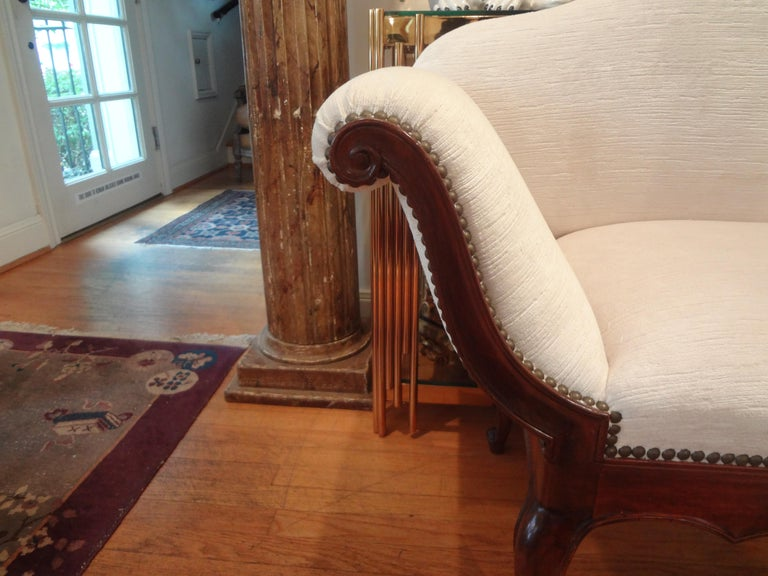19th Century Venetian Canape or Loveseat In Good Condition For Sale In Houston, TX