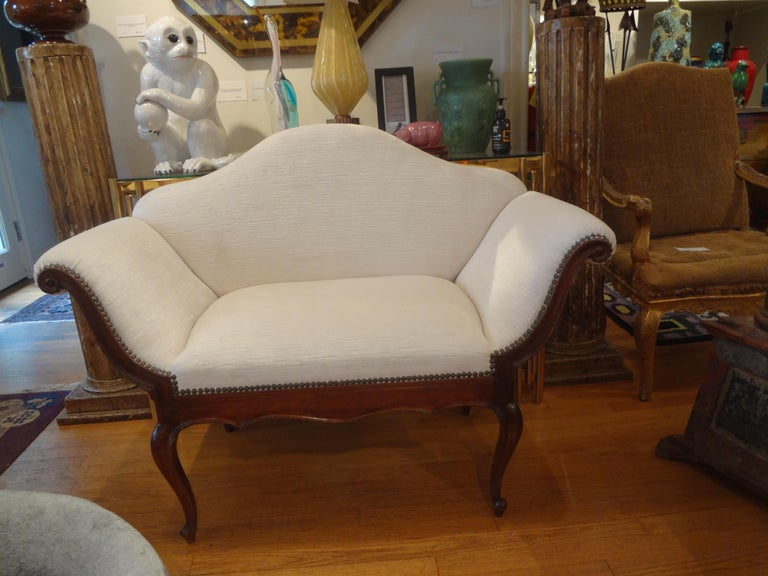 19th Century Venetian Canape or Loveseat For Sale 1