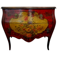 19th Century Venetian Painted Chest or Commode