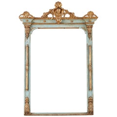 19th Century Venetian Painted Mirror Frame or Picture Frame