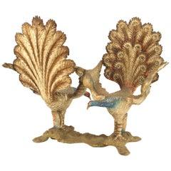 Italian Venetian Peacock Tete-a-tete