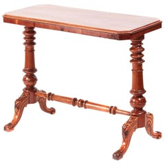 19th Century Victorian Antique Mahogany Side or Lamp Table