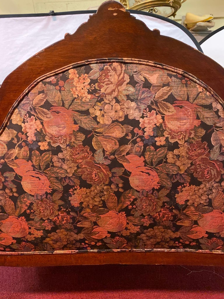 19th Century Victorian Belter Style Canopy Or Love Seat, Sofa For Sale 7