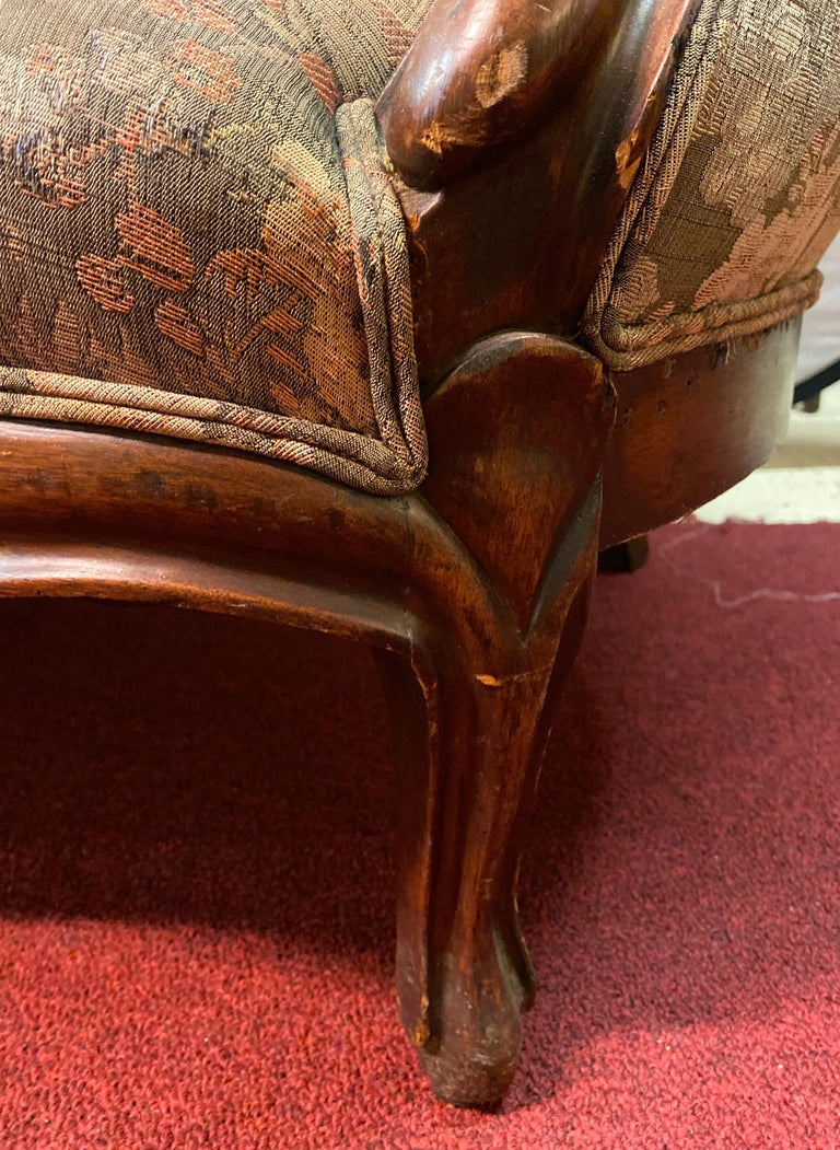19th Century Victorian Belter Style Canopy Or Love Seat, Sofa For Sale 2