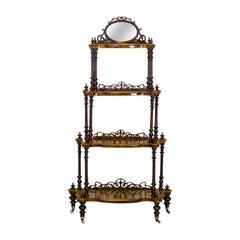 19th Century Victorian Étagère