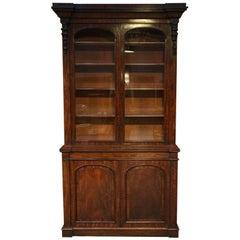 19th Century Victorian Mahogany Bookcase