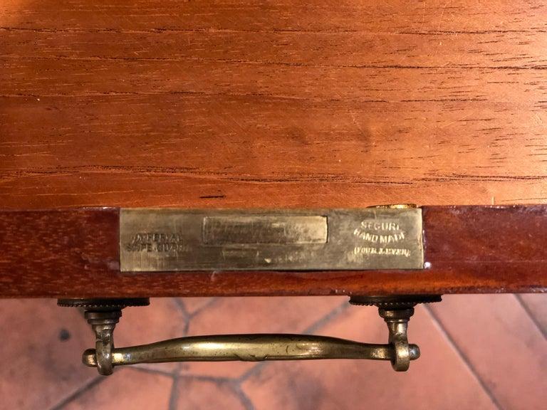 19th Century Victorian Mahogany Center Desk, 1890s For Sale 3