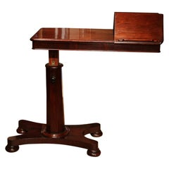 19th Century Victorian Mahogany Reading Table
