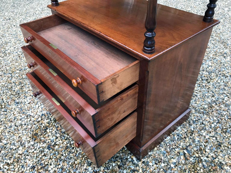 19th Century Victorian Mahogany Whatnot For Sale 1